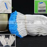 knitted cotton gloves/knitted glove/white cotton hand gloves