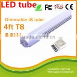 4FT T8 Dimmable Led Tubes Lights Super Bright 20W 90LM/W 1.2m G13 T8 Led Fluorescent Tube Lamp AC 110-240V UL Listed