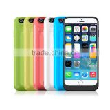 2015 new mobile power charger case, power charger case made for iphone for iphone6, power bank case factory in China