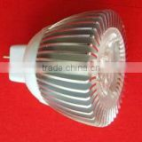 2013 innovative led spotlight heat sink,aluminum housing MR16/GU5.3/GU10/E14/E26/E27 3w led spotlight housing