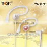new products 2014 OEM ODM pc computer mp3 mp4 Sports new stylish earhook earphone headphone headset China factory