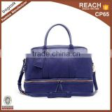 DB10015 Reshine Wholesale Adult Leather Baby Change Mat Double Layer Baby Designer Diaper Bag