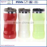 New Item of Food Grade double wall inner ss coffee travel mug for car thermos coffee tumbler
