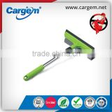 CARGEM 2 in 1 short handle car window rubber extender squeegee with mesh sponge