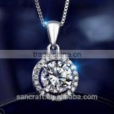 925 sterling silver american diamond necklace sets