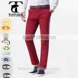 Brand name dri fit slim fit skinny tights 100 cotton fabric mens trousers pants man