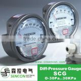 SCG high quality low air gauge, Differential pressure gauge ,Dwyer differential pressure gauge,