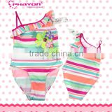 2014 New Arrival Girls Swimwear Cartoon Pirnt Snow White And Cinderella One Piece Toddler Swimsuit For Girls Children Swimwear