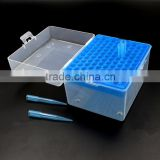 Imitation of imported 1ml suction head 100 hole with cover PP gun head boxed silicone suction head