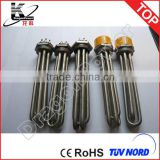 120V AC 1500W Electric Screw Plug Heater Pipe Immersion Heater Element 1 INCH NPT Thread Tubular Heater