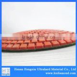 china diamond factory supplier various color diamond polishing pads flexible pad for floor