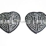 Heart Shape Crystal Men Nipple Covers For Sexy Lingerie HOT