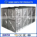 60m3 hot-dipped galvanized steel water tank for water treatment
