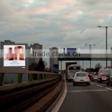 Light Weight Advertising Roadside Screen LED