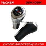 Factory Wholesales YUCHEN Car Gear Shift Knob With ///M logo For BMW 1 3 5 6 Series E60 E63 E30 E32 E34 E36 E38 E39 E46 E53