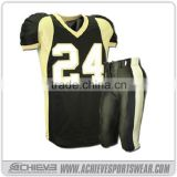 Sublimated American Football uniform, Custom Designed american football jersey and pants                                                                                                         Supplier's Choice