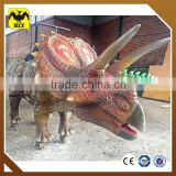 In stock artificial walking dinosaur
