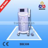 Nd Yag laser eyebrown removal beauty machine for salon/tattoo removal & wrinkles removal