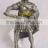 Metal Knight Armor, soldier figurines, warrior