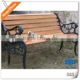 China supplier low price cast aluminum outdoor bench garden bench from Guanzhou casting foundry