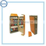 Newest Design Earring POS cabinet with Hook , Jewelry Display Suitcase on Cardboard Material
