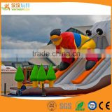 water park inflatable slide High quality inflatable castle cartoon characters