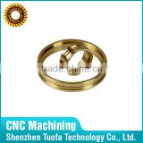Custom Brass Ring Joint Gasket CNC Precision Turning Parts