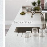 Mirror grey quartz stone compress artificial quaratz slab gris quartz countertop sparkle grey quartz stone vanity top factory