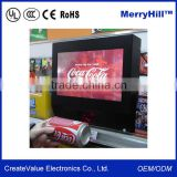 Supermarket Advertising Machine 10.1/12.1/15/17/19 inch Mini Touch Tablet PC Barcode Scanner