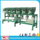 Used in rope and thread making with cotton dacron nylon glass fiber as raw material Six Spindle Winding Machine
