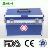 First aid box, Fireproofing board health care case