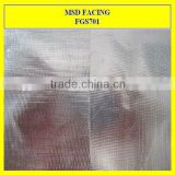 Double Sided Aluminum Foil Laminated Fiberglass Fabric for foil heat insulation