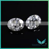 Best Quality Carats Lab created loose moissanite Diamond colorless egg Cut for Classic jewerly moissanite