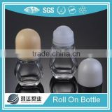 chinese glass packing 50ml roll on perfumes and fragrances bottle