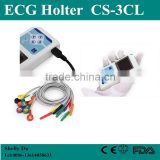 CE&ISO Cheap Price 24 Hours Medical Equipment Cardiac Heart Monitor 3/12 Channel ECG Holter System with Free Software-Shelly