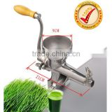 factory directly sale stainless steel Manual WheatGrass Juicer
