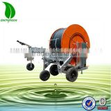 mobile sprinkler irrigation system for farm land