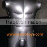 inflatable male 3/4 form,Inflatable Torso Men with Leg,Male 3/4 Body Uniform Fashion Display Inflatable Torso Mannequin