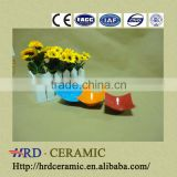 small ceramic dishes wholesale High Quality colorful hotel used ceramic dish