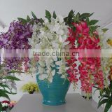 GNW FL-OK110-50-5 Silk flower plastic stems artificial orchid handing orchid