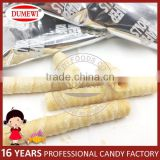 Center Filling Crispy Egg Roll Chocolate Milk Wafers