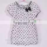 export surplus stock garments girls clothes kid's summer wear T-shirts