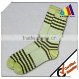 Fashion Colorful Crew Socks Cotton Causal Dress Pattern Socks For Men