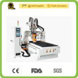 Products sell like hot cakes 3d cnc QL-M25 Disc tool changing steel furniture making machinery CNC Router