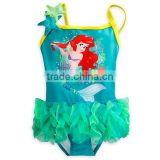 One Piece Child Litter Kids Elsa Girls Swimwear Bikini Kids Swimsuit For Girls Shoulder Bathing Suit Baby Infant Swimwear