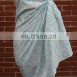 Azo free 100% Cotton Printed Sarong Pareo for Beach