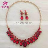 Arabic cheap adult women Belly dance necklace and earrings set accessory P-9061