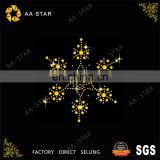 Bling hexagram rhinestones to decorate clothing