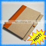 ECO-friendly recycle mini notebook with pen