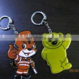 EN13356 Gifts Promotion reflective keychain